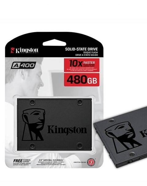 DISCO SOLIDO KINGSTON SSD A400 SATA-III 480GB